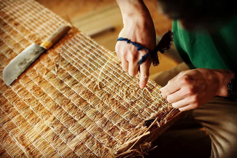 イベント告知 畳の手縫いワークショップを開催します