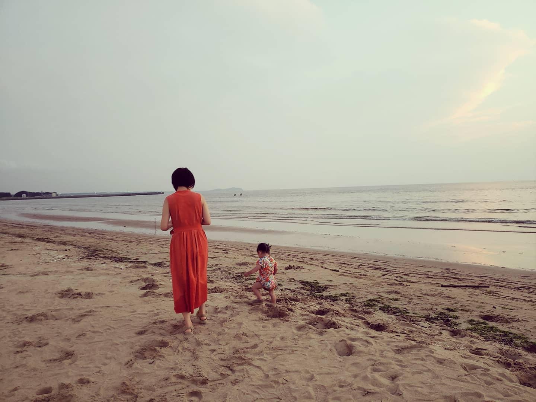 福間海岸は美しい!