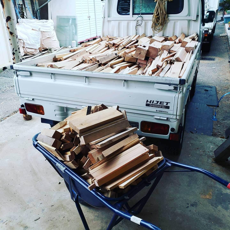 薪の販売について
